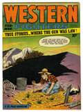 Golden Age (1938-1955):Western, Western Fighters #6 (Hillman Fall, 1949) Condition: VF/NM. Dan Zolnerowich cover. Overstreet 2006 VF/NM 9.0 value = $61; NM-...