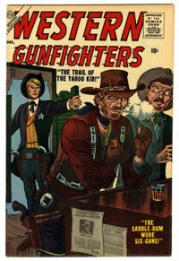 Western Gunfighters #23 Circle 8 pedigree (Atlas, 1956) Condition: VF+. Al Williamson art. Overstreet 2006 VF 8.0 value...