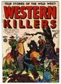 "Golden Age (1938-1955):Western, Western Killers #60 (#1) Davis Crippen (""D"" Copy) pedigree (Fox Features Syndicate, 1948) Condition: FN/VF. Contains extreme..."