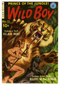 Golden Age (1938-1955):Adventure, Wild Boy of the Congo #12 (#3) Mile High pedigree (Ziff-Davis, 1951) Condition: VF/NM. Painted cover by Norm Saunders. Overs...