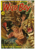 Golden Age (1938-1955):Adventure, Wild Boy of the Congo #5 Mile High pedigree (Ziff-Davis, 1951) Condition: VF/NM. Norman Saunders painted cover. Overstreet 2...