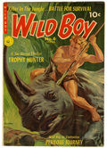 Golden Age (1938-1955):Adventure, Wild Boy of the Congo #6 Mile High pedigree (Ziff-Davis, 1952) Condition: VF/NM. Norman Saunders painted cover. Overstreet 2...