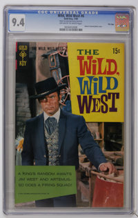 Wild, Wild West File Copies CGC Group (Gold Key, 1966-69). Includes CGC-graded copies of #1 (VF/NM 9.0), 3 (NM- 9.2), 5...
