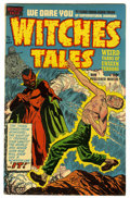 Golden Age (1938-1955):Horror, Witches Tales #10 Mile High pedigree (Harvey, 1952) Condition: FN.Lee Elias cover. Bob Powell art. Overstreet 2006 FN 6.0 v...