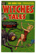 Golden Age (1938-1955):Horror, Witches Tales #12 Mile High pedigree (Harvey, 1952) Condition: FN+.Acid in the face story. Bob Powell art. Overstreet 2006 ...