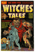 Golden Age (1938-1955):Horror, Witches Tales #14 Mile High pedigree (Harvey, 1952) Condition: FN+.Howard Nostrand, Bob Powell, and Rudy Palais art. Overst...