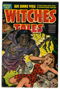 Golden Age (1938-1955):Horror, Witches Tales #15 (Harvey, 1952) Condition: FN. Rudy Palais art.Overstreet 2006 FN 6.0 value = $66. From the John McLaugh...