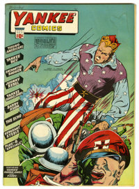 Yankee Comics #4 Mile High pedigree (Chesler, 1942) Condition: FN-. Young Americans, Yankee Boy, Barry Kuda, and Sergean...