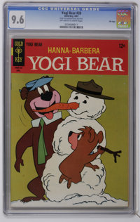 Yogi Bear #28 File Copy (Gold Key, 1967) CGC NM+ 9.6 Off-white to white pages. Overstreet 2006 NM- 9.2 value = $40. CGC...