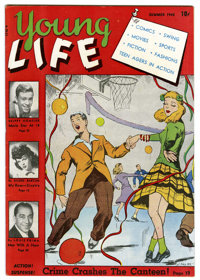 Young Life #1 Mile High pedigree (New Age Publishers, 1945) Condition: VF/NM. Skip Homeier and Louis Prima stories. Over...