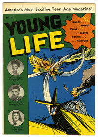Young Life #2 Mile High pedigree (New Age Publishers, 1945) Condition: NM-. Frank Sinatra photo cover and story. Overstr...