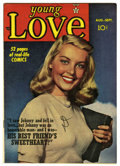 Golden Age (1938-1955):Romance, Young Love #4 Mile High pedigree (Prize, 1949) Condition: VF+. Photo cover. Joe Simon and Jack Kirby art. Overstreet 2006 VF...