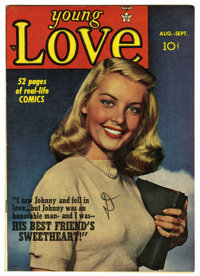 Young Love #4 Mile High pedigree (Prize, 1949) Condition: VF+. Photo cover. Joe Simon and Jack Kirby art. Overstreet 200...
