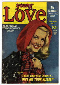 Young Love #7 Mile High pedigree (Prize, 1949) Condition: VF. Photo cover. Joe Simon and Jack Kirby art. Overstreet 2006...
