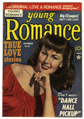 Golden Age (1938-1955):Romance, Young Romance Comics #16 Mile High pedigree (Prize, 1949)Condition: VF. Photo cover. Joe Simon and Jack Kirby art.Overstre...