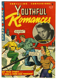 Youthful Romances #10 Mile High pedigree (Pix Parade, 1952) Condition: FN/VF. Mel Torme photo cover and story. Overstree...