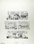 "Jack Davis - Mad #147, Complete 4-page Story 'The New Army"" Original Art (EC, 1971). Jack Davis details the ""a..."