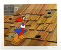 "Animation Art:Limited Edition Cel, ""Rooftop Woody Woodpecker"" Hand Painted Cel #199/200 Original Art(Walter Lantz Productions, 1991). Woody Woodpecker pecks o...(Total: 2 Items)"