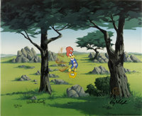 """""""In the Rough"""" International Limited Edition Hand-Painted Cel #8/25 Original Art (Walter Lantz Productions, 19..."""