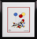 "Animation Art:Limited Edition Cel, ""Party Pals"" Limited Edition Serigraph Cel Original Art (Walter Lantz Productions, 1997). Woody Woodpecker, Chilly Willy, an..."