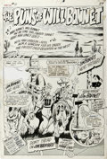 Original Comic Art:Panel Pages, Tom Sutton - Not Brand Echh #11, Splash Page 29 Original Art (Marvel, 1968). Tom Sutton's splash page for this TV parody is ...