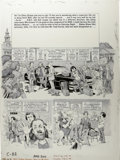 "Original Comic Art:Complete Story, George Woodbridge - Mad #200, Complete 4-page Story ""Mad's College Concert Comic of the Year"" Original Art (EC, 1978). Georg... (Total: 4 Items)"