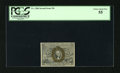 Fractional Currency:Second Issue, Fr. 1286 25c Second Issue PCGS Choice About New 55. Wide margins and nice centering of the bronze oval are traits of this no...
