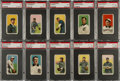 Baseball Cards:Lots, 1909-11 T206 White Borders Southern Leaguers Collection (30). ...