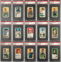 Baseball Cards:Lots, 1909-11 T206 White Borders PSA Graded Collection (31) with HoFers....