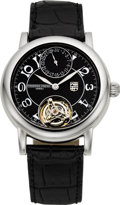 Timepieces:Wristwatch, Frederique Constant Highlife Tourbillon Limited Edition Steel Wristwatch, No. 48/99. ...