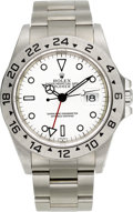 Timepieces:Wristwatch, Rolex Ref. 16570 Steel Explorer II, circa 1999. ...