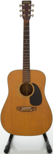 Musical Instruments:Acoustic Guitars, Circa 1974 Takamine F-340 Natural Acoustic Guitar, #74101353....
