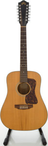 Musical Instruments:Acoustic Guitars, Guild D4-12NT Natural 12 String Acoustic Guitar, #A0420193....