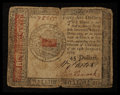 Colonial Notes:Continental Congress Issues, Continental Currency January 14, 1779 $45 Fine.. ...