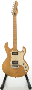 Musical Instruments:Electric Guitars, Circa 1980 Peavey T-15 Natural Solid Body Electric Guitar,#01178932....