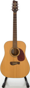Musical Instruments:Acoustic Guitars, Tacoma DM-10 Natural Acoustic Guitar, #B0710020....