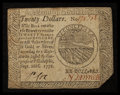 Colonial Notes:Continental Congress Issues, Continental Currency September 26, 1778 $20 Very Fine.. ...
