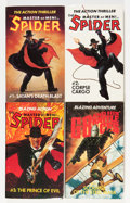 Pulps:Miscellaneous, The Spider and G-8 Pulp Reprints Group (Various, 1980s-2000s)....(Total: 12 Items)