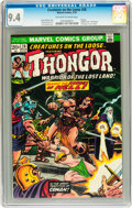 Bronze Age (1970-1979):Horror, Creatures on the Loose #28 (Marvel, 1974) CGC NM 9.4 Off-white towhite pages....