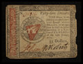 Colonial Notes:Continental Congress Issues, Continental Currency January 14, 1779 $55 Very Fine.. ...