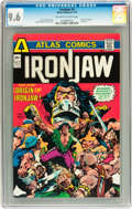 Bronze Age (1970-1979):Miscellaneous, Ironjaw #4 (Atlas-Seaboard, 1975) CGC NM+ 9.6 Off-white to whitepages....