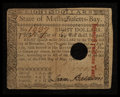 Colonial Notes:Massachusetts, Massachusetts May 5, 1780 $8 Fine-Very Fine.. ...