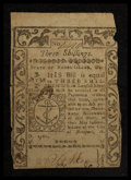 Colonial Notes:Rhode Island, Rhode Island May 1786 3s Fine.. ...