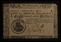 Colonial Notes:South Carolina, South Carolina December 23, 1776 $8 Fine.. ...