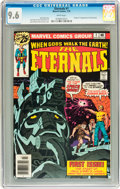 Bronze Age (1970-1979):Superhero, The Eternals #1 (Marvel, 1976) CGC NM+ 9.6 White pages....