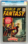 Silver Age (1956-1969):Horror, World of Fantasy #12 (Atlas, 1958) CGC VG/FN 5.0 Cream to off-whitepages....
