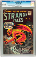 Silver Age (1956-1969):Horror, Strange Tales #74 (Marvel, 1960) CGC FN 6.0 Cream to off-whitepages....