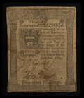 Colonial Notes:Pennsylvania, Pennsylvania March 20, 1773 14s Very Good-Fine.. ...