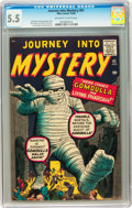 Silver Age (1956-1969):Horror, Journey Into Mystery #61 (Marvel, 1960) CGC FN- 5.5 Off-white towhite pages....
