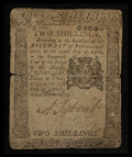 Colonial Notes:Pennsylvania, Pennsylvania April 25, 1776 2s Very Good.. ...
